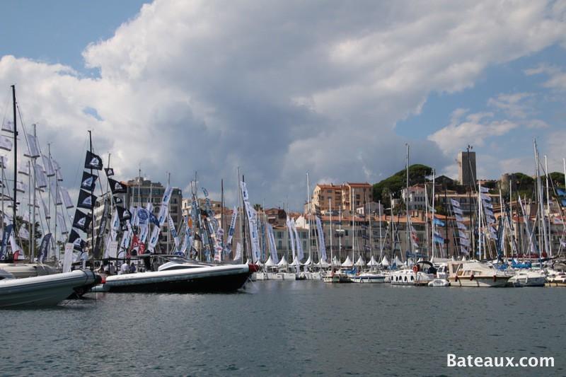 Photo La ville de Cannes pendant le Yachting Festival 2015