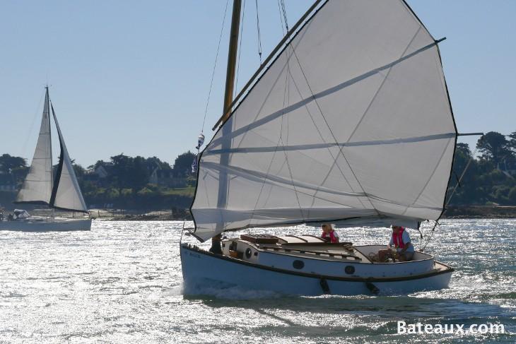 Photo Catboat à voile de jonque