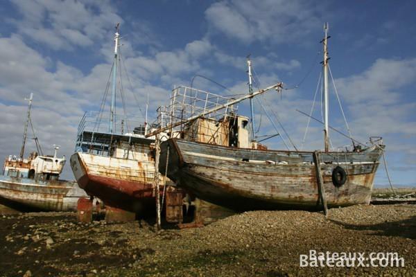 Photo Cimetière à bateaux de Camaret-sur-mer