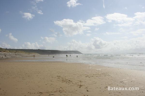 Photo La Palue - vue des plages