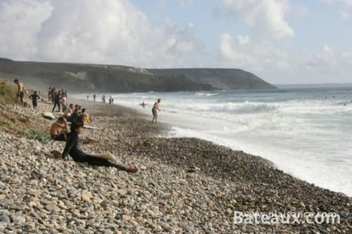 Photo Sur la plage de la Palue (29)