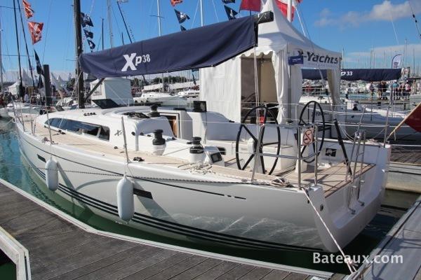 Photo x-Yachts présente le XP38 au Grand Pavois 2013