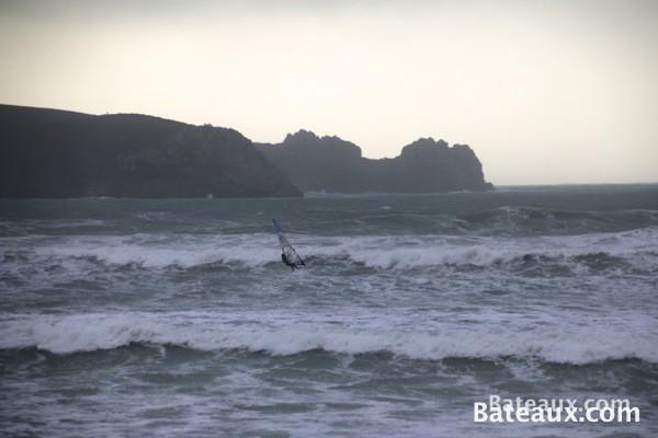 Photo WindSurf sur la presqu'ile de Crozon (Finistère)
