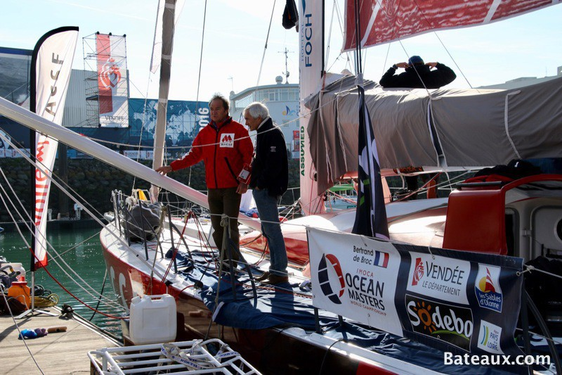 Photo Bertrand De Broc sur MACSF - Vendée Globe 2016