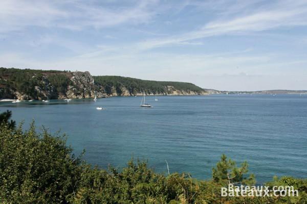 Photo Baie de Douarnenez depuis l'Ile-Vierge (Crozon 29)