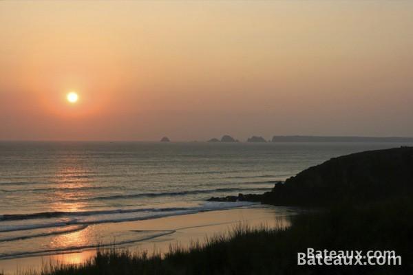 Photo Les Tas de Pois au coucher de soleil