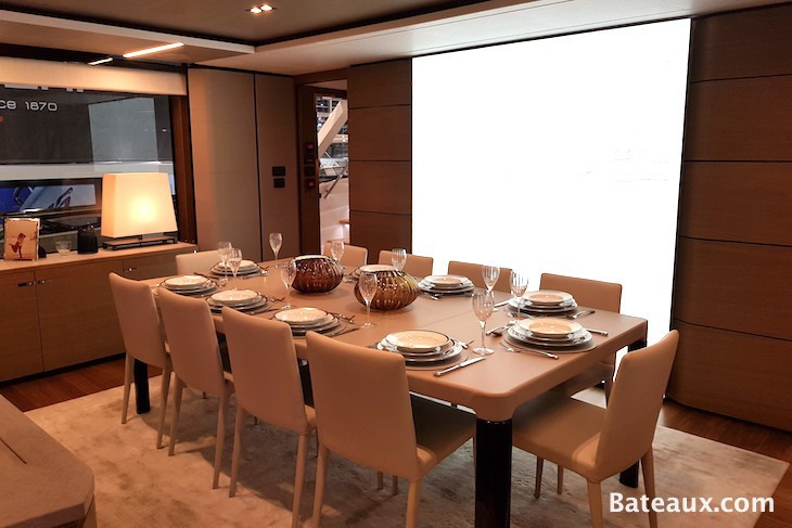 Photo Salle à manger superyacht