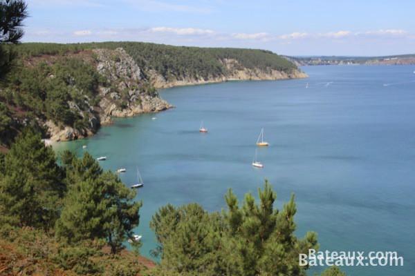 Photo Anse de Saint-Hernot dans la baie de Douarnenez