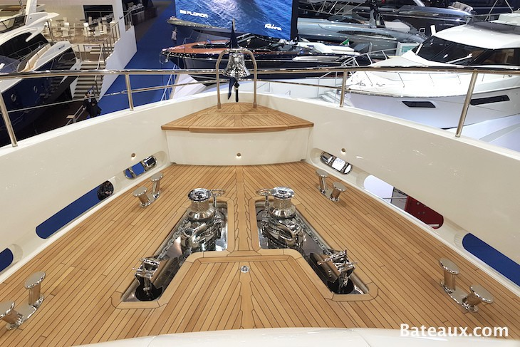 Photo Ancre Princess 35 M de Princess Yachts