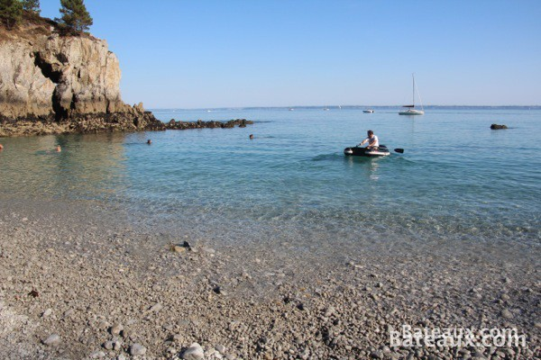 Photo Plage sur l'Ile-Vierge de Saint-Hernot (Crozon 29)