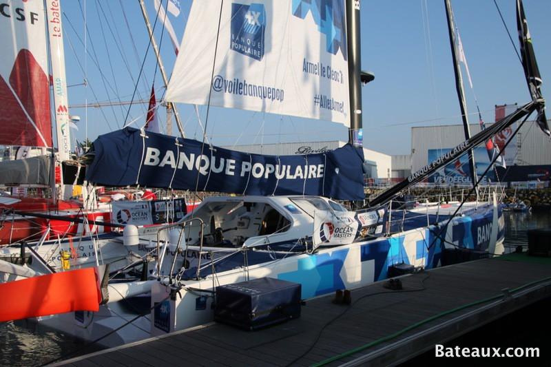 Photo Armel LE CLÉAC'H avec BANQUE POPULAIRE VIII