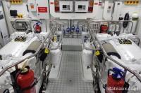 Salle des machines Princess 35 M de Princess Yachts