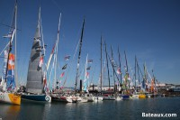 photo Les IMOCA - ponton du Vendée Globe 2016