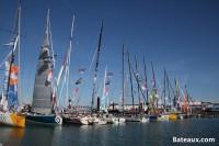 Les IMOCA - ponton du Vendée Globe 2016