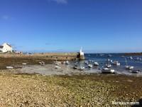 Port de Molène à marée basse