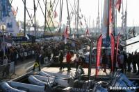Visite du ponton du Vendée Globe 2016