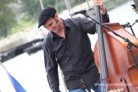 Contrebasse sur le festival de Loire 2013