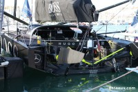 Cockpit de l'IMOCA Hugo Boss d'Alex Thomson