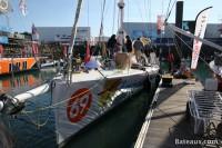Imoca TechnoFirst - faceOcean - Ponton du Vendée Globe