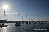 Tour de Belle Ile 2013 - Sortie en baie de Quiberon