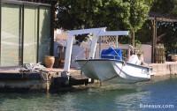Port à sec personnel à Port Grimaud