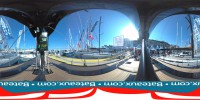 Exterieur du voilier Grand Soleil 58 en 360°