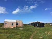 Cabanes de goémonier sur le Ledenez de Molène