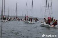 Direction la ligne de départ du Tour de Belle île 2014
