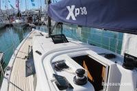 Pont du voilier XP38 de X-Yachts pendant le Grand Pavois 2013