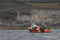 Bateau de pêche au large de Brest