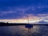 Coucher de soleil sur l'île de Molène