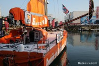 Imoca PRB avant le départ du Vendée Globe
