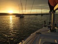 Coucher de soleil sur Molène
