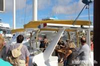 Visite du voilier Ailé Matin Bleu - Grand Pavois 2013