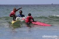 Cours de surf à La Palue (29)