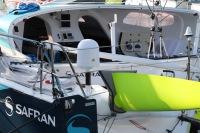 Morgan Lagravière avec Safran Sailing Team