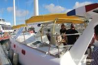 Le voilier Ailé Matin Bleu au Grand Pavois de 2013