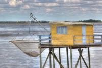Cabane de pêche sur la Charente