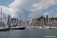 La ville de Cannes pendant le Yachting Festival 2015
