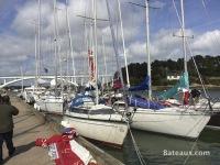 Sur les pontons avant le Tour de Belle Ile 2014