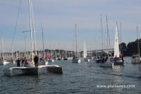 Départ des voiliers pour le Tour de Belle Ile 2013