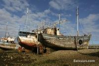 Cimetière à bateaux de Camaret-sur-mer