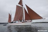 Le Belle Etoile dans la rade de Brest