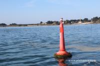 Sortie de La Trinité-sur-Mer en baie de Quiberon