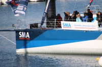 Paul Meilhat avec SMA Course au large