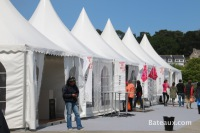 Stands sur le tour de Belle Ile 2014