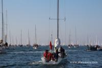 Sortie en 2013 de La Trinité-sur-Mer en baie de Quiberon