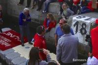 Francois Damiens lors du baptême d'Initiatives-Cœur