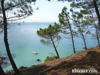 La Baie de Douarnenez depuis le chemin des douaniers à Morgat