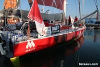 MACSF de Bertrand De Broc - Ponton du Vendée Globe 2016